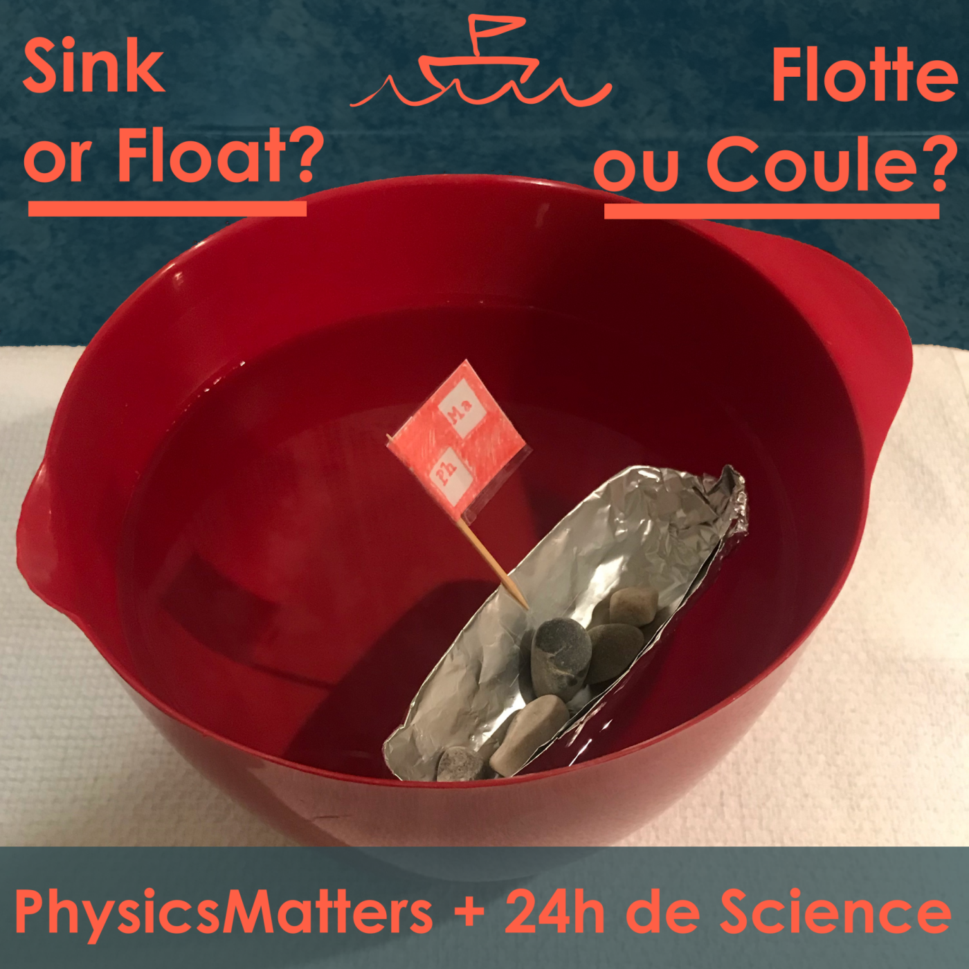 Sink or Float? / Flotte ou coule?
