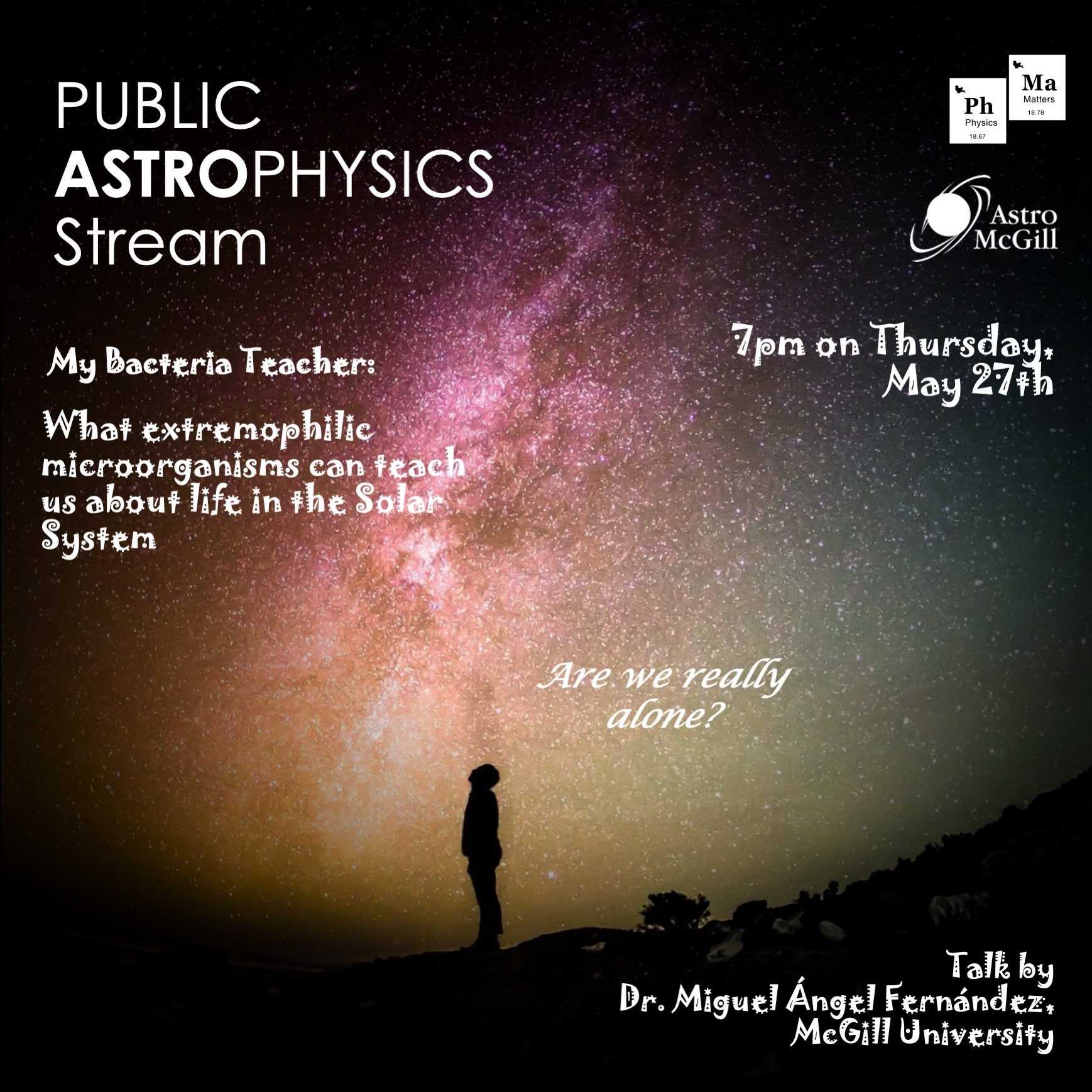 My Bacteria Teacher: What extremophilic microorganisms can teach us about life in the Solar System
