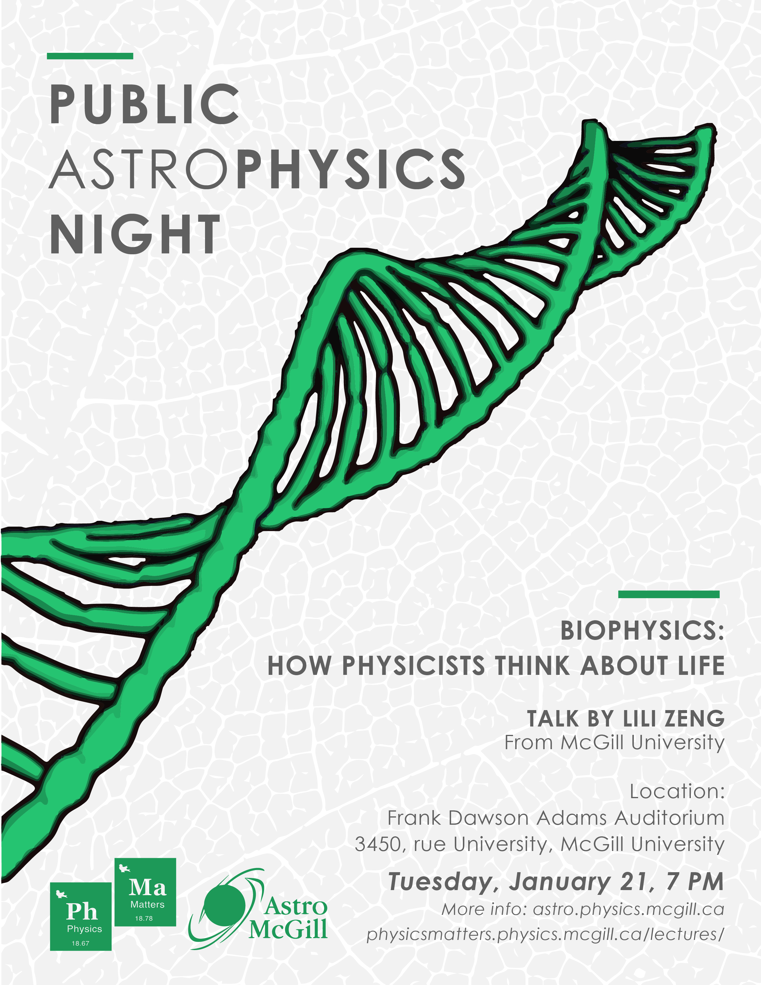 Biophysics: How Physicists Think About Life