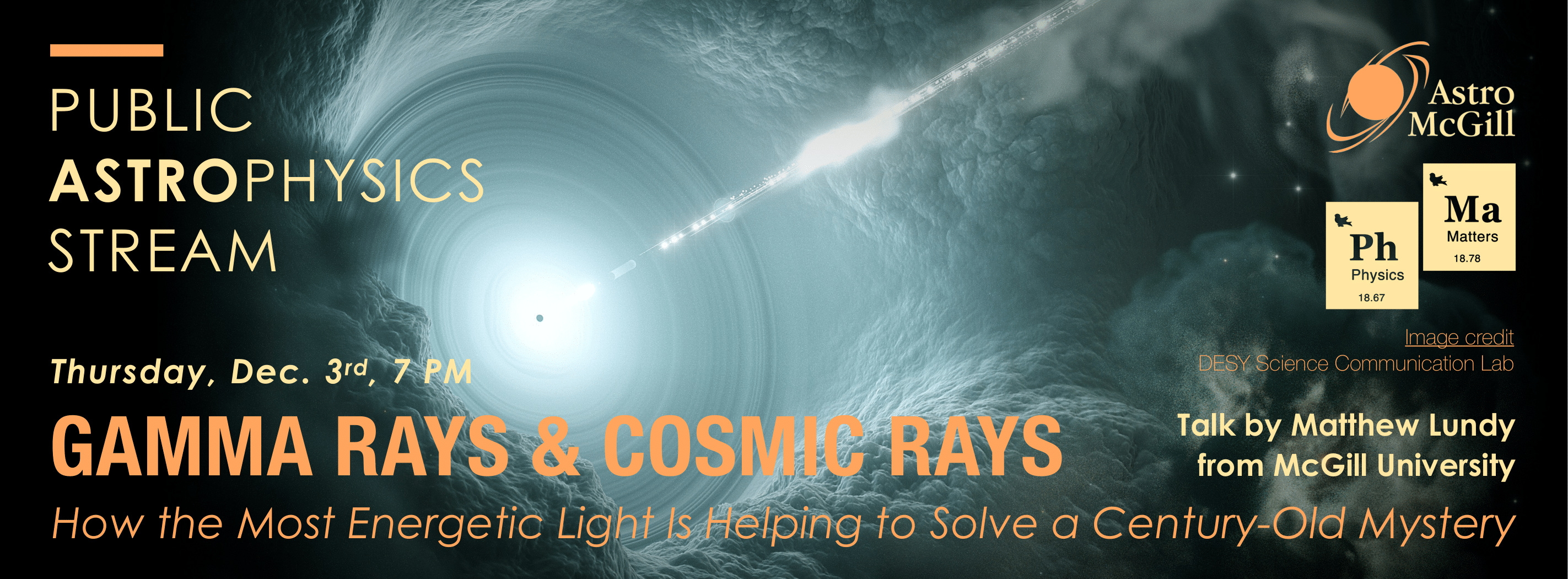 Gamma Rays & Cosmic Rays