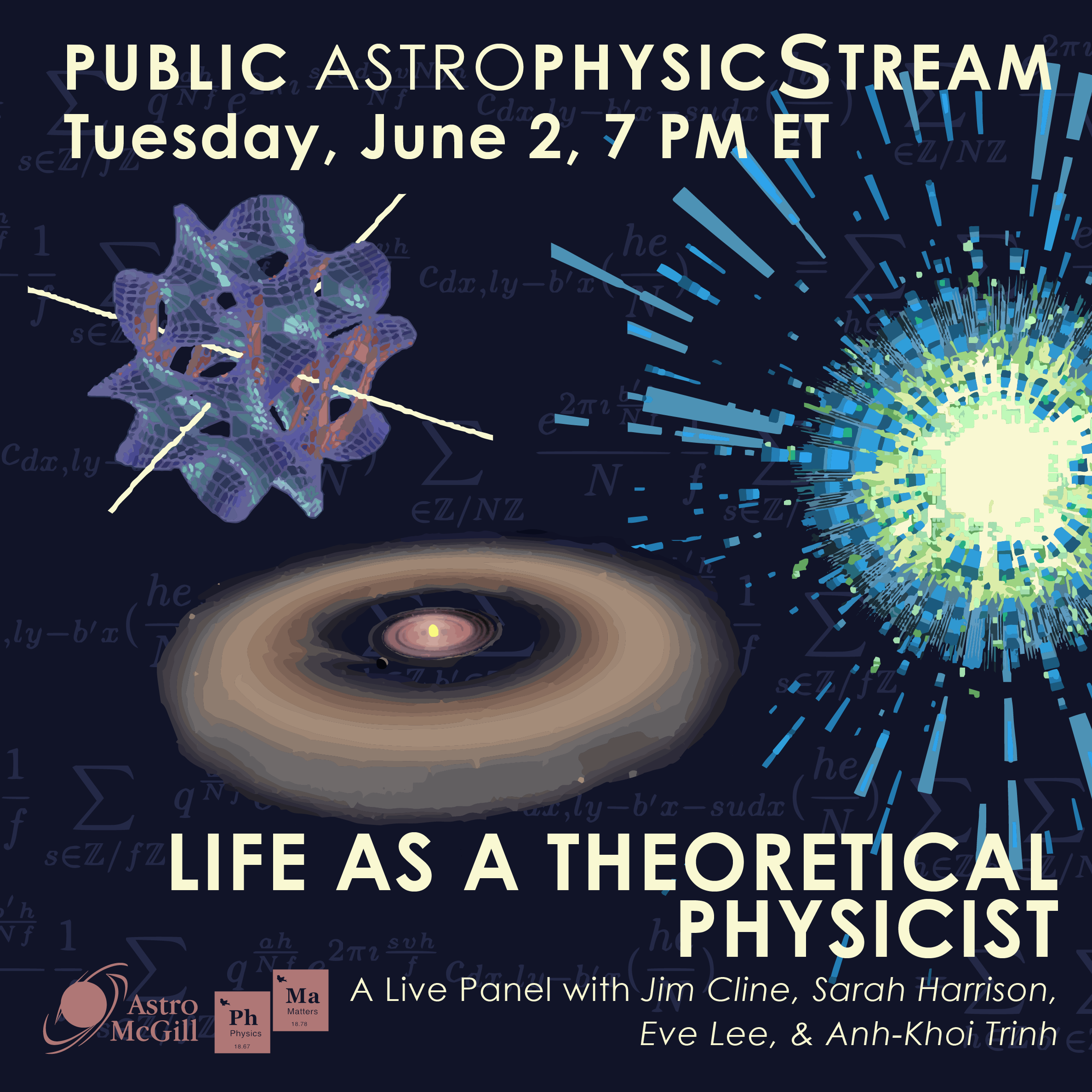 Life as a Theoretical Physicist Live Panel