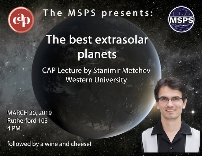 CAP Lecture: The best extrasolar planets